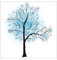 Clipart Winter Tree