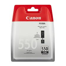 Close Image For Canon PGI 550 Black Ink Printer Cartridge From Sainsburys