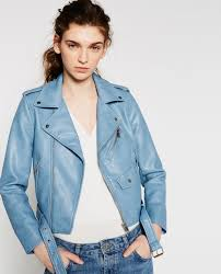 faux leather jacket collection woman new in zara united kingdom