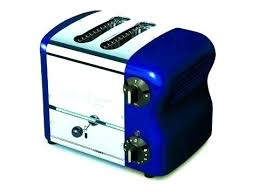 Enchanting Cobalt Blue Toaster Toasters Esprit Wide 2 Slice Bread With