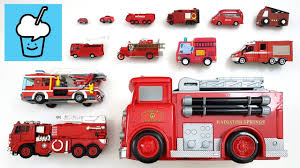 100 Fire Truck Movie S For Children Kids And More With Tomica Wooden