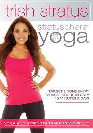 Techniques By Trish September 2014 by Amazon Com Stratusphere Yoga Trish Stratus N A U0026 Tv