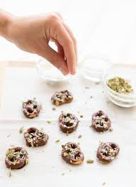 Desserts With Pumpkin Seeds by Chocolate Covered Pretzels With Sea Salt Coconut And Pumpkin