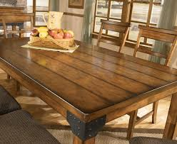 Dining RoomA Fascinating Long Build Rustic Room Table From Wood In A Minimalist