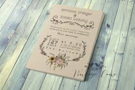 Day Invite Preview Front Rustic Style Wedding Invitations