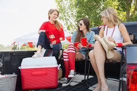 Coleman Oversized Quad Chair With Cooler Pouch by 8 Best Picks For Tailgating Coolers