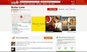 Butter Lane Bakerys Yelp Profile Has Photos And A Deal For Customers In The Lower