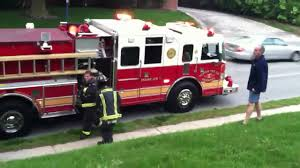 100 First Fire Truck And Second S Arrive On The Scene YouTube