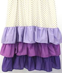 Purple Waterfall Ruffle Curtains by Best 25 Purple Baby Curtains Ideas On Pinterest Pink Gold Party