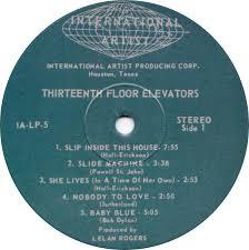 Thirteenth Floor Elevators Slip Inside This House by Vinyl Album 13th Floor Elevators Easter Everywhere Charly Uk