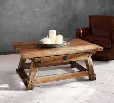 Excellent Benches Style And Also Monroe Coffee Table Pottery Barn