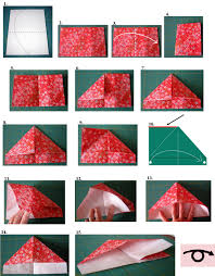 Easy Origami Crafts Flower Paper Folding Instructions