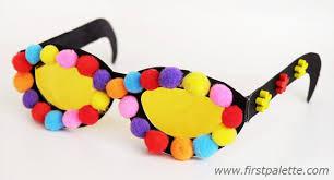 Paper Eyeglasses Craft