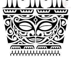 Tattoostime Images 409 Tikki Polynesische TatowierungenProjekteMaori Tattoo MusterPolynesische