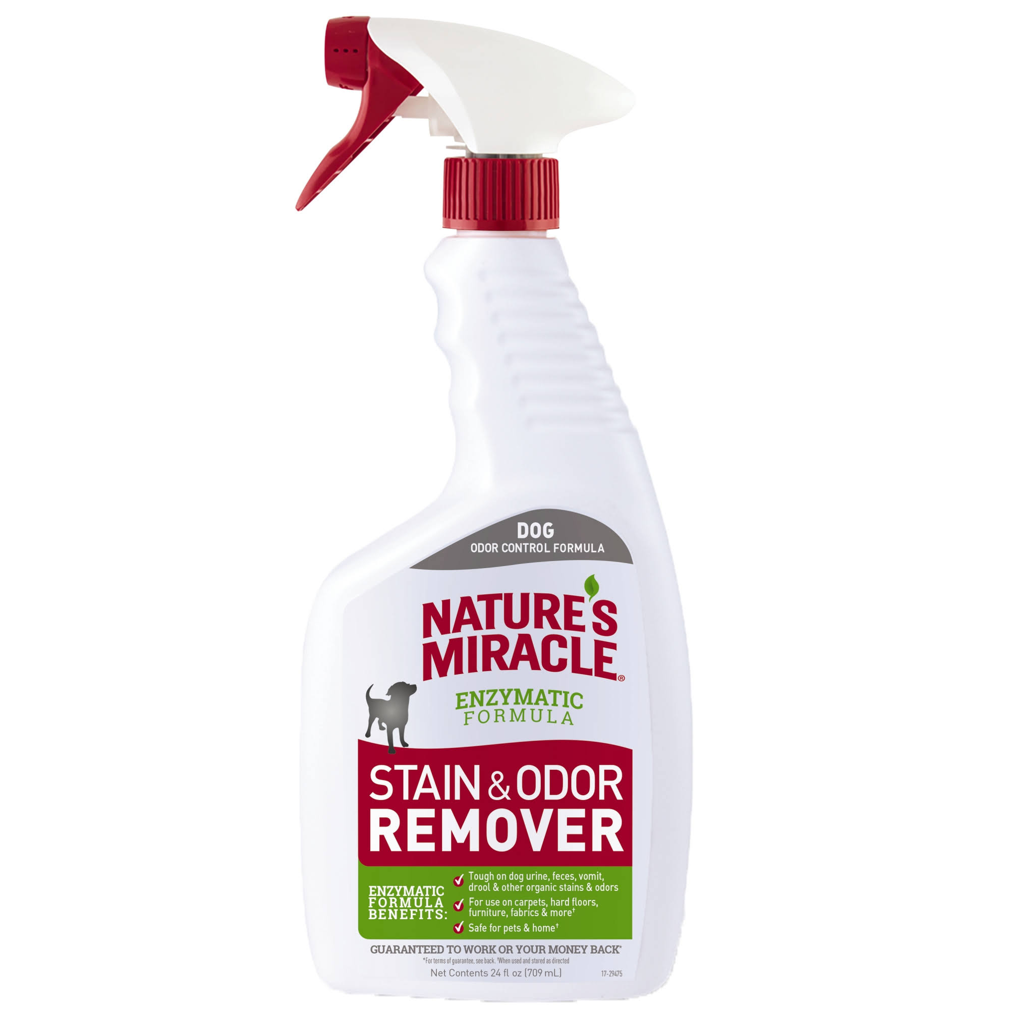 Nature's Miracle Cat/Dog Liquid Pet Stain and Odor Remover 24 oz.