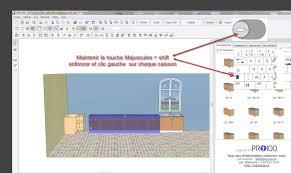 logiciel conception cuisine professionnel logiciel 3d pro 100 pour vos design 3d la fabrication de cuisine