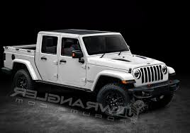 Jeep Rubicon 2019 With Jeep Wrangler Pickup Truck Hitting Dealers In ... Jeep Wranglerbased Pickup Caught Testing On The Rubicon Trail 2019 Wrangler Truck To Feature Convertible Soft Top Bandit Wiring Diagrams Truck Cversion By Aev Called Brute Badass Jl Fresh Fers Axial 2012 Unlimited Scx10 Rtr Review Rc The 2017 Youtube Will Probably Look Like This Is Coming In 2018 Maxim Pickup Crawling Closer Production Fox News With Hitting Dealers In Awesome Topcar1club