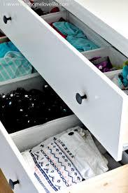 Ikea Hemnes Dresser 3 Drawer White by Dresser Organization First Home Love Life