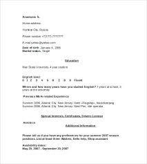 Resume For Housekeeper Housekeeping Samples Database Template Nanny Job Description