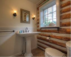 Small Rustic Bathroom Ideas by Small Log Cabins Bathroom Ideas Houzz