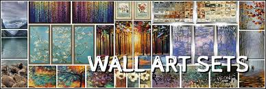 Framed Wall Art Sets Attractive Ideas 3 Piece In Decorating