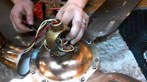 Harbor Breeze Ceiling Fan Capacitor Wiring by Replacing The Capacitor In A New Fan Ceiling Fan Model N 101 B 52