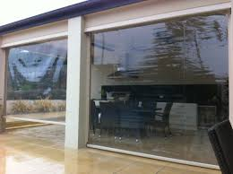 Patio Curtains Outdoor Plastic by Cafe Blinds Pvc Blinds Outdoor Roll Up Blinds Melbourne