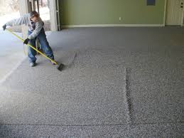 flooring affordable garage floor ideas cheapest cheap at home in