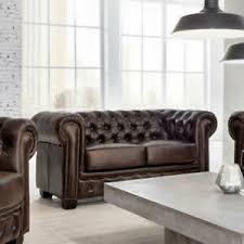 details zu chesterfield sofa 2 sitzer leder braun antik luxus hochwertige qualität
