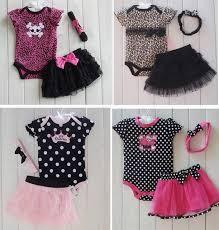 2017 New Fashion Baby Girl Clothes Clothing Set Romper Tutu Skirt Headband Newborn