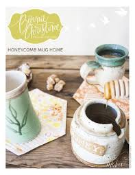Honeycomb Mug Home Pattern