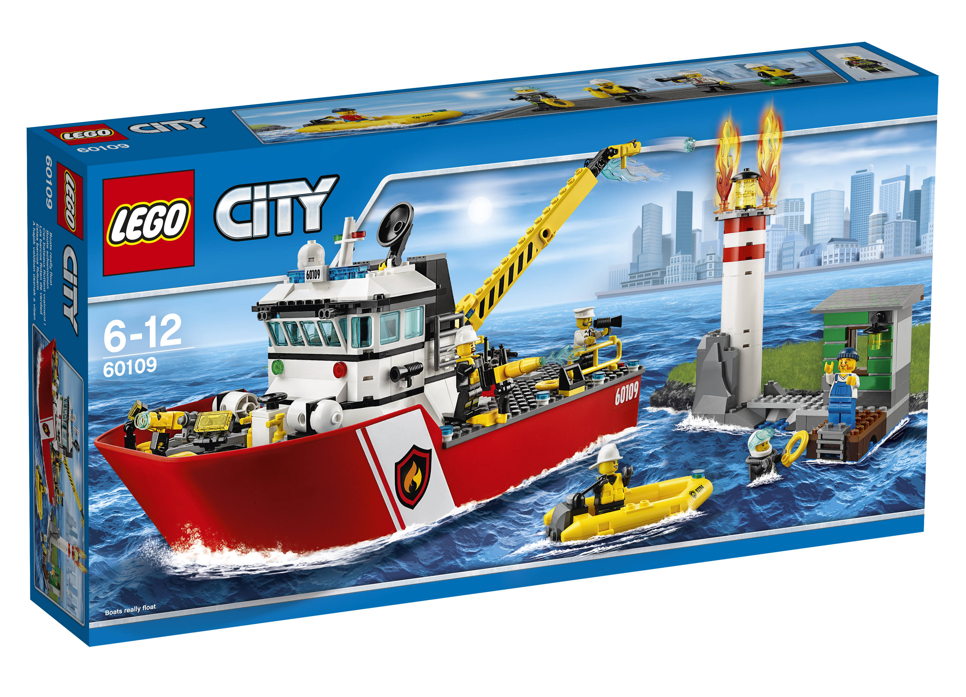 Lego City Fire Boat Kids Games
