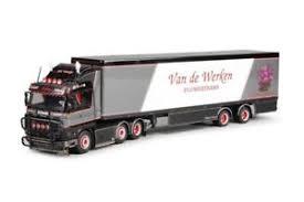 Image Is Loading Tekno Very Rare Dutch Van De Werken Scania