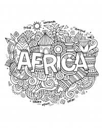 Adult Africa Abstract Symbols Coloring Pages Printable And Book To Print For Free Find More Online Kids Adults Of