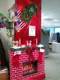 Funny Christmas Cubicle Decorating Ideas by Office Door Contest On Pinterest Funny Christmas Door Decorations