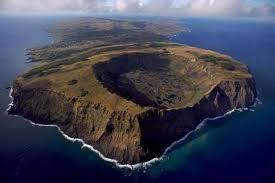 Hexagonal Craters Land Islands Earth