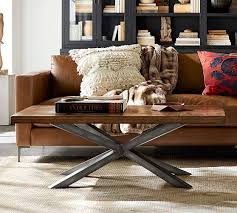 Pottery Barn Townsend Coffee Table Rustic Pine Jax Big Daddy Home Livi