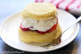 Low Carb Strawberry Shortcake