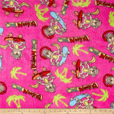 Whisper Plush Fleece Cool Monkey Fuschia - Discount Designer Fabric ... Amazoncom Nickelodeon Blaze High Octane Fleece 62 X 90 Twin And The Monster Machines Give Me Speed Cotton Fabric Etsy Prints For Babies Blog Polar Trucks Olive Discount Designer Truck Fabric Panel Sew Pinterest Quilts El Toro Loco Tote Bag For Sale By Paul Ward Antipill John Deere Brown Plaid Patch 59 Wide Zoofleece Kids Blue Boys Pjs Winter Warm Pajama Snuggle Flannel Joann Cute Rascals Toddler Pullover 100