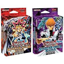 amazon com yu gi oh starter deck yugi kaiba reloaded set of 2