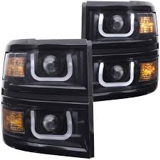 ANZO USA U-Bar Style Projector Headlights With Glossy Black Trim ... 5 Affordable Ways To Protect Your Truck Bed And More Chevrolet Pressroom Canada Images Amazoncom 6 Piece Plug Kit For 2500hd Rear Wheel Well Cab 2014 Silverado 1500 Accsories Bahuma Sticker Zroadz Z332081 Front Roof Led Light Bar Mounts 42018 Chevy Ranch Hand Fsc14hbl1 Summit Series Full Width Tough Black W Rough Country 75 Suspension Lift Chevy Truck Accsories 2015 Near Me Chevrolet 3500 Hd Crew Specs Photos 2013 Fenders 3 Bulge Fibwerx