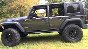 Factory JK Half Doors With Factory Hardtop On A 2014 Jeep Wrangler ...