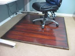Hard Surface Office Chair Mat by Office Chair Mat For Wood Floors Floortex Cleartex Polycarbonate