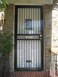 Metal Security Door With Window • Security Door Ideas