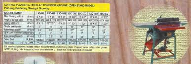 Woodworking Machine Price In India by Randa Machine Surface Planner Machine Thickness Machine 3 In 1