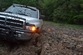 100 Stuck Trucks The Best And Only Way To Test Out A New Lift Kit Is To Get It Stuck