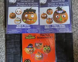 Pumpkin Push Ins Decorating Kit by Pumpkin Decorating Etsy