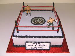 Wwe Wrestling Room Decor by Wrestling Cupcake Cake Wrestling Cakes For Your Active Boy U0027s