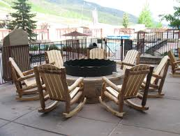 100 Wooden Outdoor Rocking Chairs Aspen Log Chair Rustic Log Furniture Of Utah
