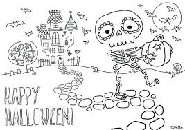 Free Coloring Pages Pdf Online For Adults Halloween Middle School Fun Printable Fingers Candy
